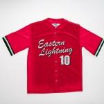 FCW - Eastern Lightning  baseball top