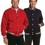 FCW - Unisex Fleece Varsity Jacket