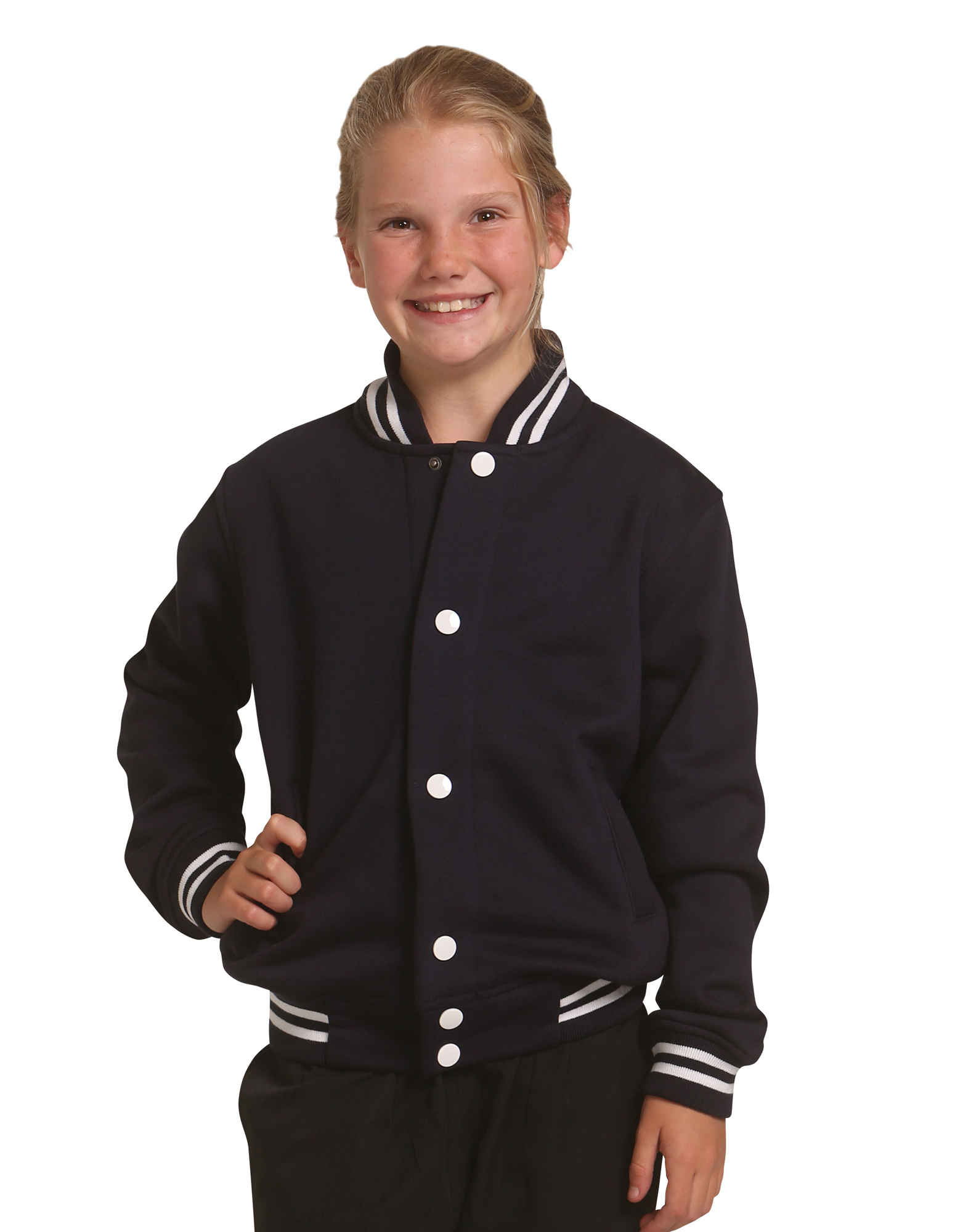 Kids Plain bomber jacket (assorted colours)