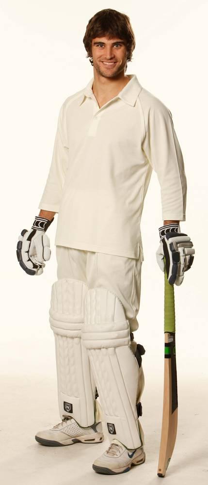 Men's TrueDry® Mesh Knit Short Sleeve Cricket 3/4