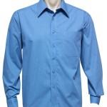 FCW - Mens L/S Micro Check Shirt