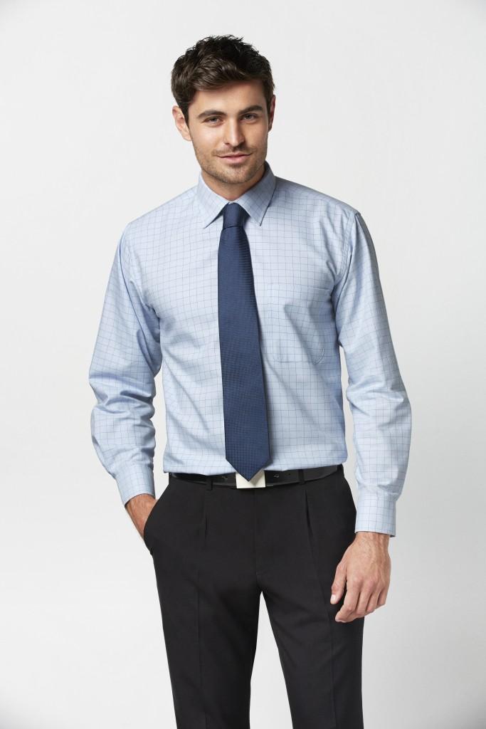 Mens L/S Oxford Check Shirt