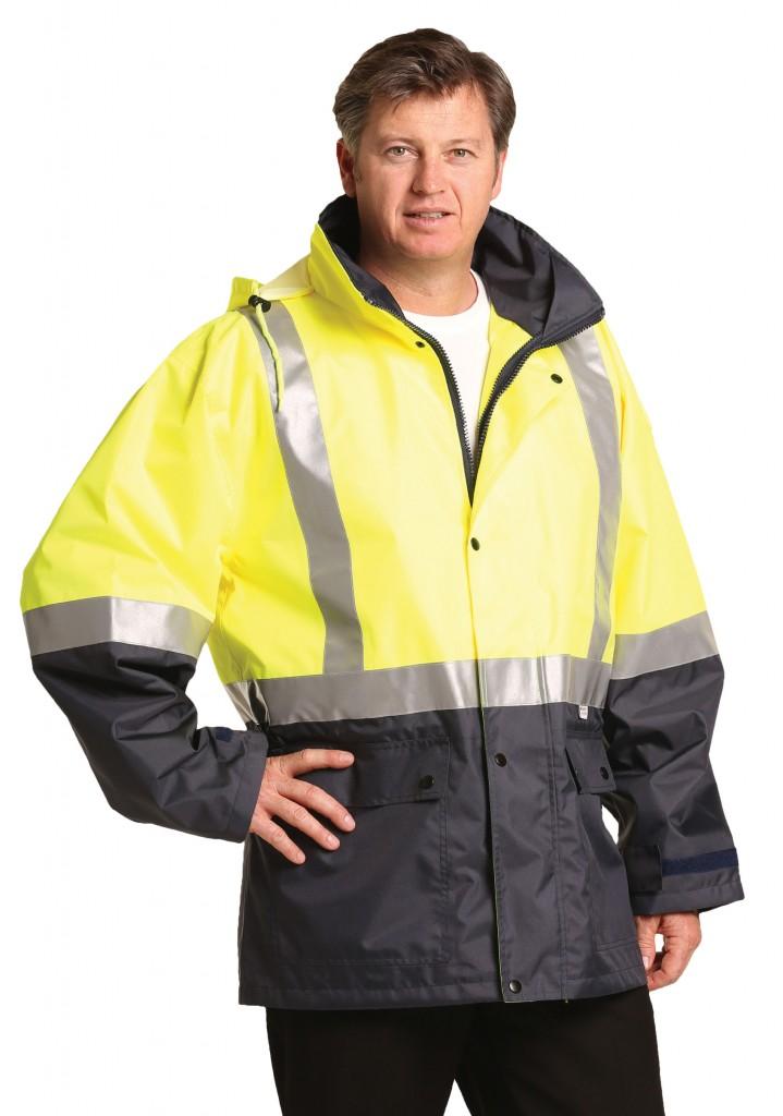 Hi-Vis Two Tone Rain Proof Safety Jacket