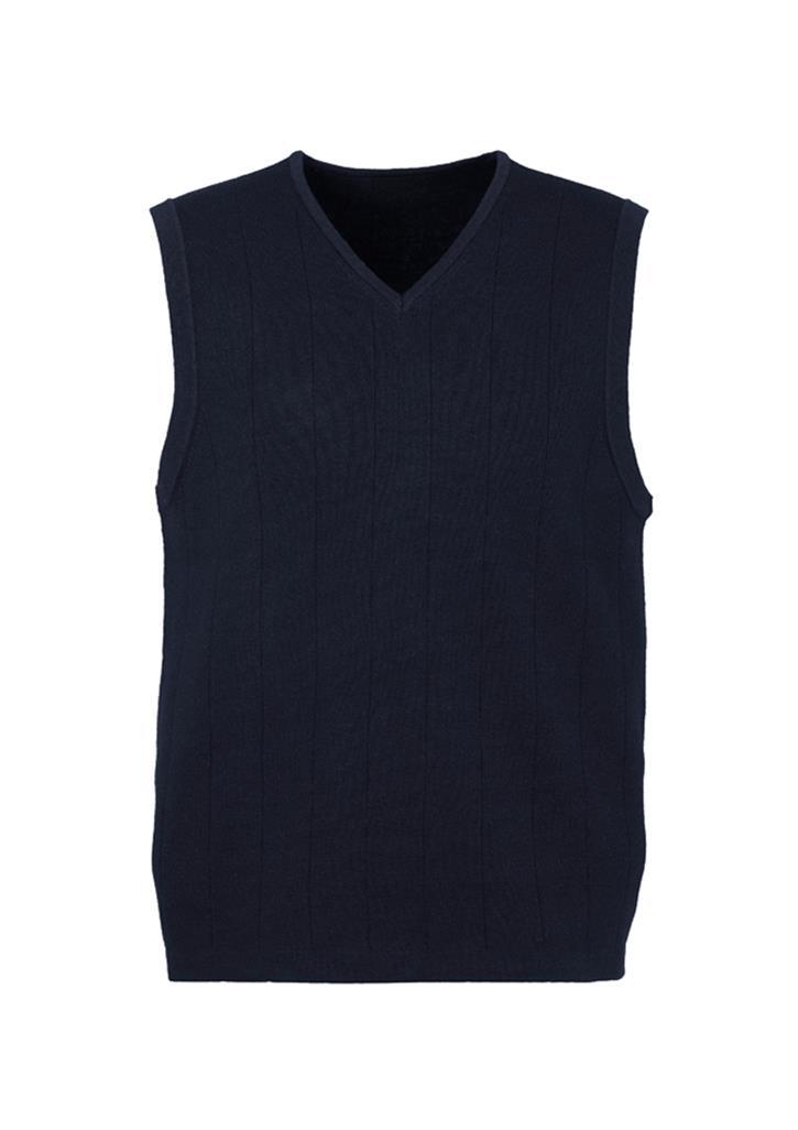 Mens 80/20 Wool-Rich Vest