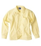 FCW - Girls long sleeve polyester cotton Peter Pan blouse
