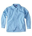 FCW - Girls long sleeve pin tuck blouse