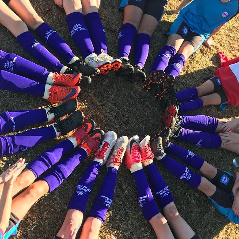 #PlayinPurple for pancreatic cancer <br/> PanKind Foundation Purple Socks