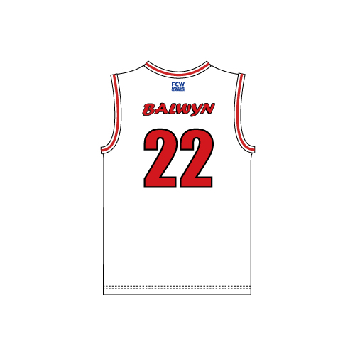 Balwyn Blazers Basketball Reversible Singlet